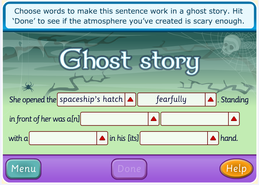 Writing stories online