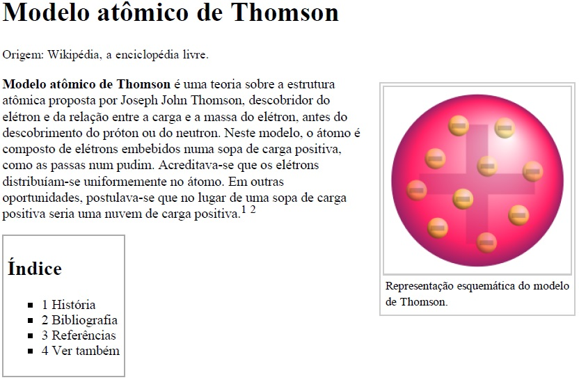 Modelo atômico de Thomson - Content - EdRedi