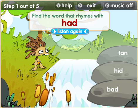Image result for river rhyming game bitesize