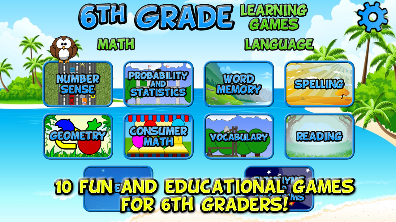 Sixth Grade Learning Games - Content - ClassConnect