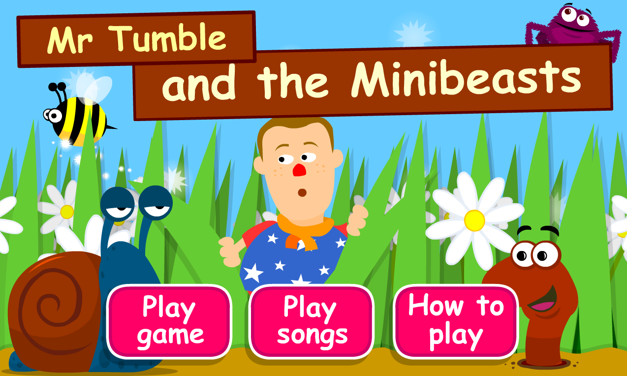 Mr tumble and the minibeasts content classconnect - Something special ...