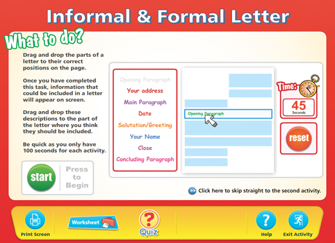 Formal informal letters content classconnect spiritdancerdesigns Choice Image