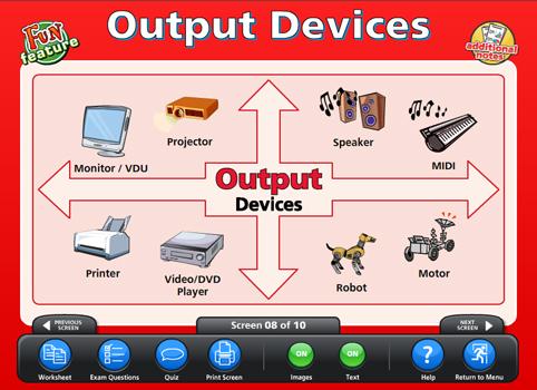 Input amp output devices content classconnect