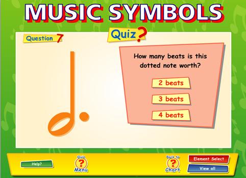 Music Symbols Content Classconnect