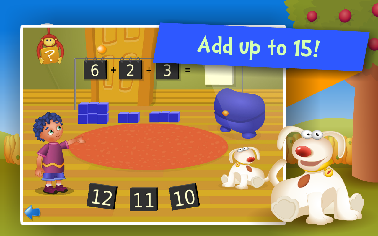 Counting & Addition Kids Games - Content - ClassConnect