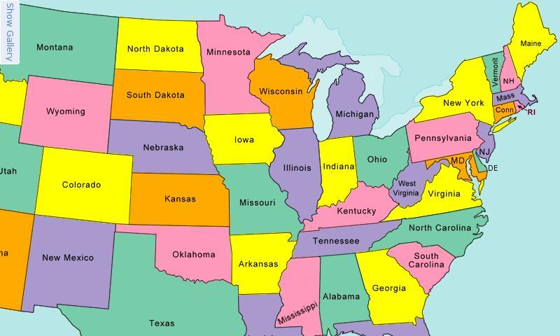 Usa Map Puzzle Content Classconnect - Map-of-us-puzzle