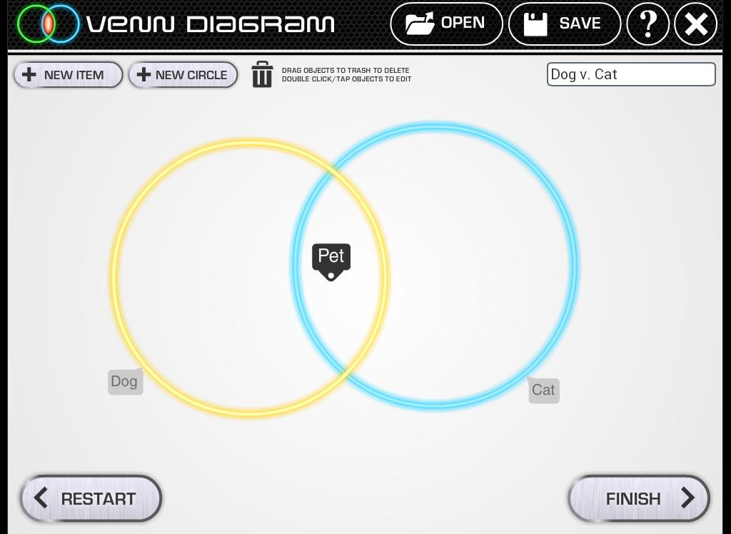 Venn Diagram Content Classconnect