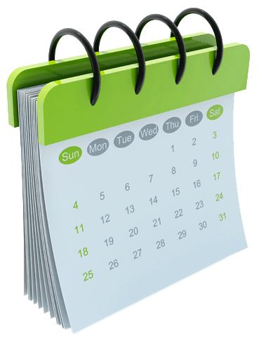 Calendario de Disponibilidad